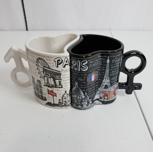 💕Paris City Sights Coffee Cup Set 🌃 💕✨